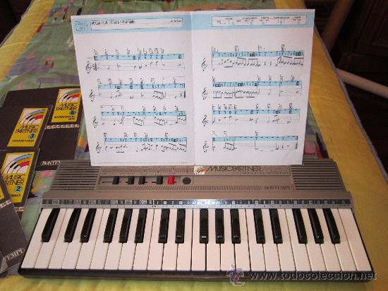 TECLADO BOMTEMPI MUSICPARTNER (Música - Instrumentos Musicales - Teclados Eléctricos y Digitales)