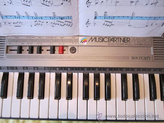 Instrumentos musicales: Teclado BOMTEMPI MUSICPARTNER - Foto 3 - 30516885