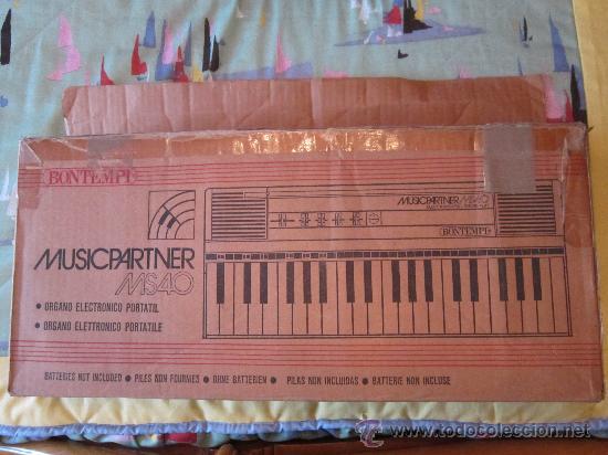 Instrumentos musicales: Teclado BOMTEMPI MUSICPARTNER - Foto 5 - 30516885