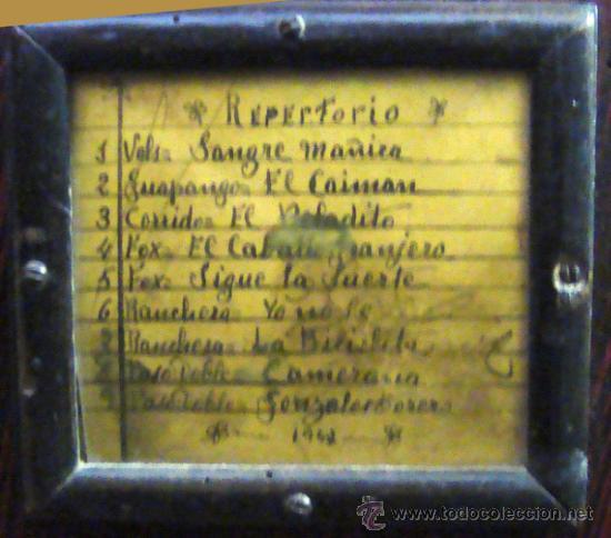Instrumentos musicales: Esplendido y antiguo organillo o piano de manubrio - Foto 7 - 30983993