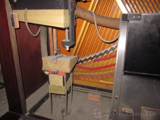 Instrumentos musicales: PIANOLA PIANO WEBER Y ROLLOS DE MUSICA - Foto 17 - 80134227