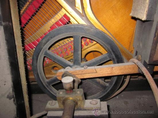 Instrumentos musicales: PIANOLA PIANO WEBER Y ROLLOS DE MUSICA - Foto 19 - 80134227