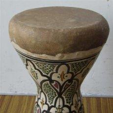 Instrumentos musicales: TIMBAL DE CERAMICA. Lote 31584384