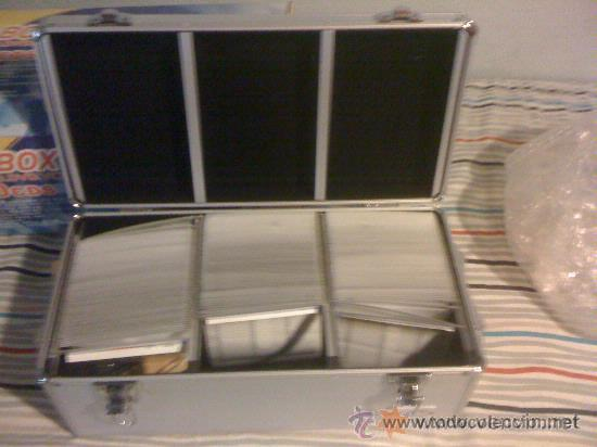 Instrumentos musicales: Caja profesional para DJ. 390 CDs. Metálica. Nueva. - Foto 3 - 31715159