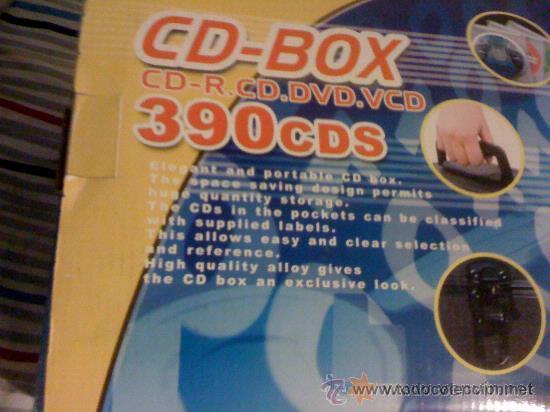 Instrumentos musicales: Caja profesional para DJ. 390 CDs. Metálica. Nueva. - Foto 7 - 31715159