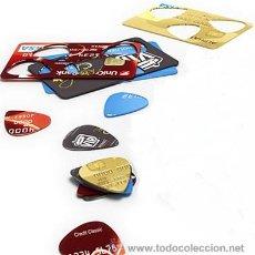 Instrumentos musicales: 30 PUAS RECICLADAS. HECHAS CON TARJETAS DE CRÉDITO VIEJAS.. Lote 31750692
