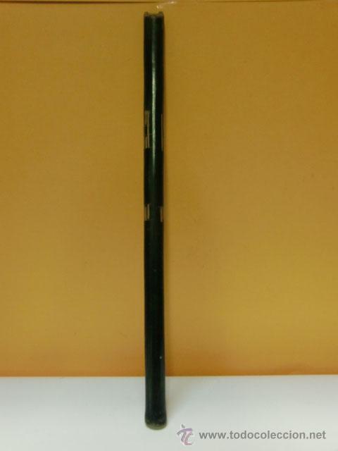 Instrumentos musicales: Flauta verde con dibujos. Le falta la boquilla - Foto 5 - 32154578