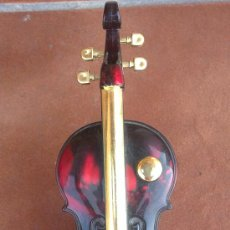 Instrumentos musicales: &-CAJA DE MUSICA -VIOLIN-(21X9 CTM). Lote 32844941