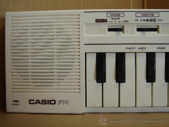 ORGANO TECLADO PIANO - CASIO PT-1 - PT1 - JAPAN 80 S ¡¡¡ NO FUNCIONA ¡¡ (Música - Instrumentos Musicales - Pianos Antiguos)