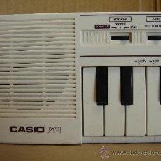 Instrumentos musicales: ORGANO TECLADO PIANO - CASIO PT-1 - PT1 - JAPAN 80 S ¡¡¡ NO FUNCIONA ¡¡. Lote 32471681