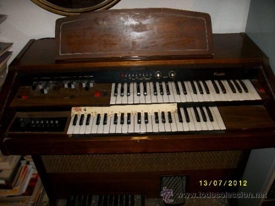 ORGANO ELECTRICO TIVOLI (Música - Instrumentos Musicales - Teclados Eléctricos y Digitales)