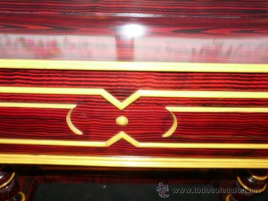 Instrumentos musicales: Organillo de manubrio italiano. Restaurado. Año 1900 aprox. - Foto 6 - 32540356