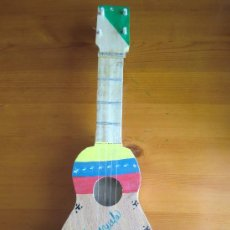 Instrumentos musicales: CUATRO ARTESANO DE VENEZUELA, HECHO A MANO, CUATRO CUERDAS. ¡UNA JOYA! ¡NUEVA! GUITARRA. Lote 32822325