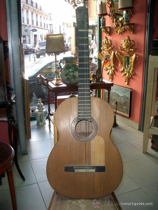 Guitarra flamenca de juan lópez. málaga - Vendido en Venta