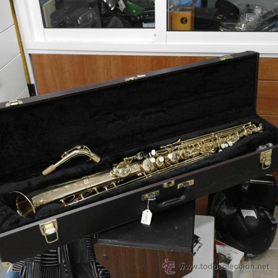 Instrumentos musicales: MUY ESPECIAL,HECHO DE ENCARGO.SAXO ALTO RECTO BETTER SOUND - Foto 2 - 22863884