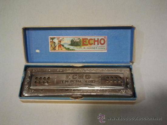 """Instrumentos musicales: Armónica marca """"M. Hohner"""" con su estuche original - Foto 2 - 33208578"""