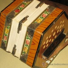 Instrumentos musicales: ANTIGUA CONCERTINA FABRICADA EN ALEMANIA -. Lote 33309731