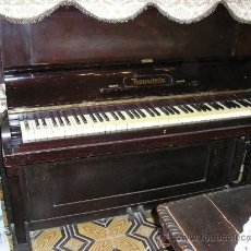Instrumentos musicales: ANTIGUO PIANO VERTICAL **BAUSCHALS** . Lote 33762855