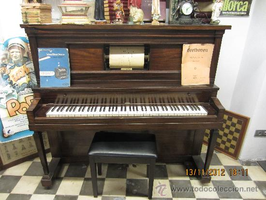 PIANOLA (Música - Instrumentos Musicales - Pianos Antiguos)