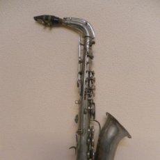 Instrumentos musicales: ALTO SAXOPHONE.. Lote 34651597