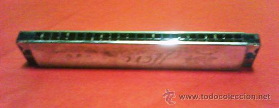 Instrumentos musicales: instrumento musical - armonica - hero harmonica - madera y metal - china - ver foto - años 80 - Foto 2 - 64417722