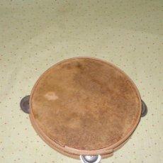 Instrumentos musicales: PANDERETA ANTIGUA DE PIEL EN ESTADO PERFECTO. Lote 77855921