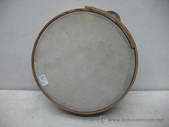 ANTIGUA PANDERETA DE MADERA (Música - Instrumentos Musicales - Percusión)