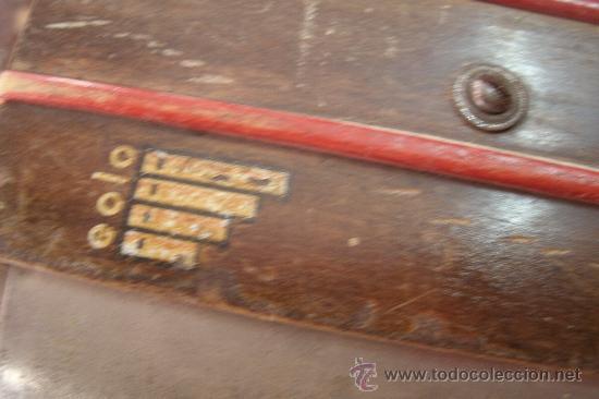 Instrumentos musicales: ANTIGUO ACORDEÓN - BANDONEÓN ORIGINAL DE PRINCIPIOS DEL S. XX EN MADERA Y TECLAS DE HUESO - Foto 5 - 41155567