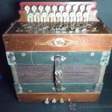 Instrumentos musicales: ANTIGUO ACORDEON MARCA EL CID - VALENCIA. Lote 36344662