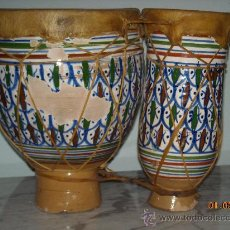 Instrumentos musicales: TIMBALES ARABES. Lote 36051467
