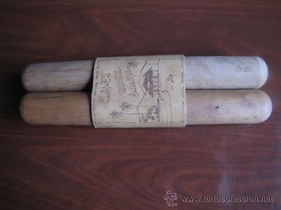 ANTIGUA Y ORIGINAL CLAVE TRAIDA DE CUBA (Música - Instrumentos Musicales - Percusión)