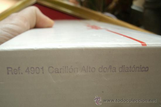 Instrumentos musicales: Metalófono o Carrillón Alto Diatónico HONSUY - Made in Spain - Nuevo a estrenar - - Foto 7 - 36360722