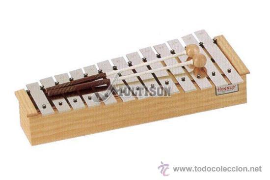 METALÓFONO O CARRILLÓN ALTO DIATÓNICO HONSUY - MADE IN SPAIN - NUEVO A ESTRENAR - (Música - Instrumentos Musicales - Percusión)