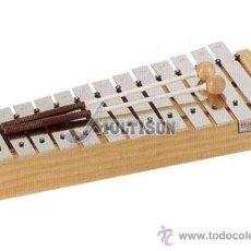 Instrumentos musicales: METALÓFONO O CARRILLÓN ALTO DIATÓNICO HONSUY - MADE IN SPAIN - A ESTRENAR. Lote 36360722