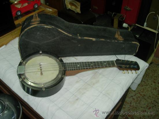BANJO (Música - Instrumentos Musicales - Cuerda Antiguos)