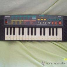 Instrumentos musicales: TECLADO ELECTRONICO CASIO SA-35 ORGANO PIANO COLOR NEGRO. Lote 36571257