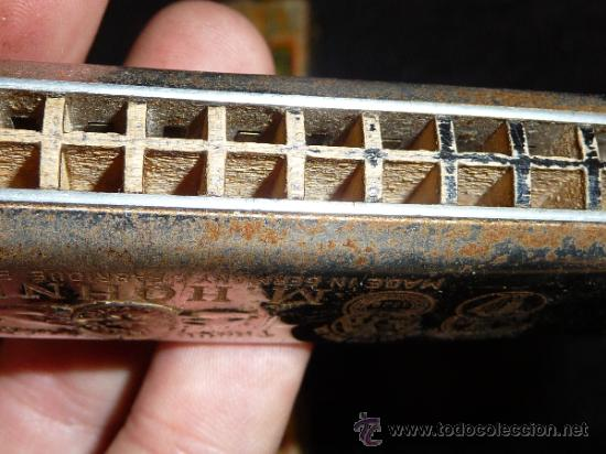 Instrumentos musicales: Antigua Armonica marca Hohner - Foto 4 - 36581894
