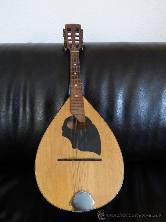 Instrumentos musicales: MANDOLINA ANTIGUA CON ESTUCHE DE MADERA - Foto 2 - 38211098