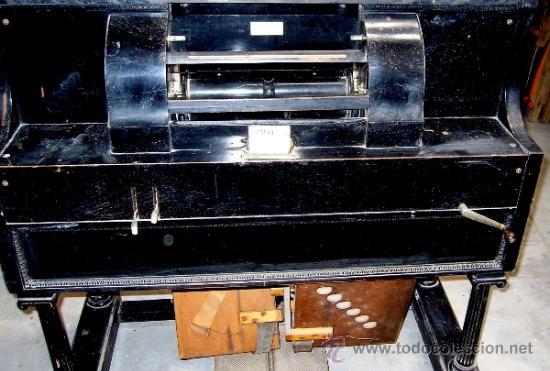 PIANOLA (SIMPLEX PIANO PLAYERS). THEODORE P. BROWN. WORCESTER U.S.A. 1901. ORIGINAL (Música - Instrumentos Musicales - Pianos Antiguos)