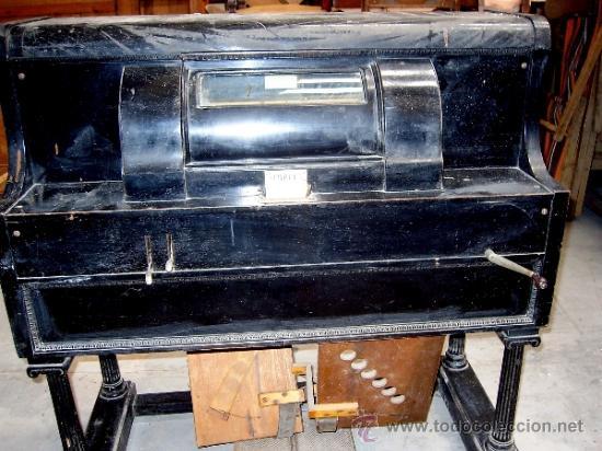 Instrumentos musicales: PIANOLA (SIMPLEX PIANO PLAYERS). THEODORE P. BROWN. WORCESTER U.S.A. 1901. ORIGINAL - Foto 4 - 36835083
