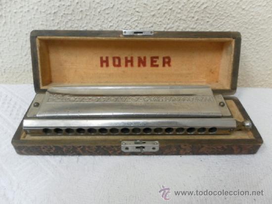 ARMÓNICA HOHNER ALEMANA. (Música - Instrumentos Musicales - Viento Metal)