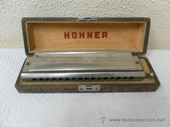 Instrumentos musicales: Armónica Hohner alemana. - Foto 2 - 36851220