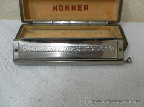 Instrumentos musicales: Armónica Hohner alemana. - Foto 3 - 36851220