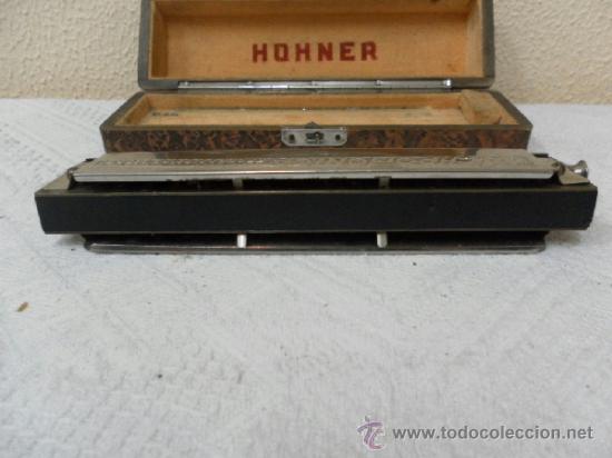 Instrumentos musicales: Armónica Hohner alemana. - Foto 4 - 36851220
