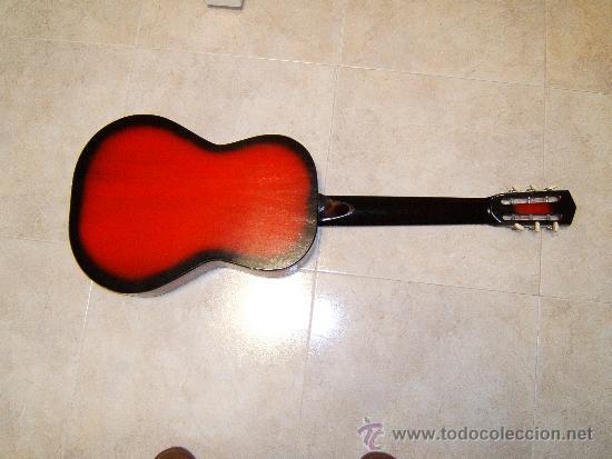 Instrumentos musicales: GUITARRA CLASICA ACUSTICA ESPAÑOLA CON TIRADOR FIJO -ARTESANIA BATLLE-GERONA - 1969 ? COLECCIONISTAS - Foto 3 - 36904240