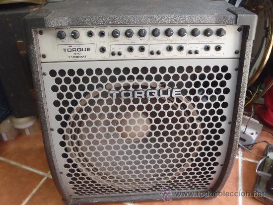 AMPLIFICADOR TORQUE FUNCIONANDO PERFERTAMENTE MODELO TRIO T 1003 MT, (Música - Instrumentos Musicales - Accesorios)