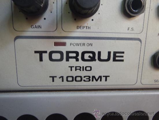 Instrumentos musicales: AMPLIFICADOR TORQUE FUNCIONANDO PERFERTAMENTE MODELO TRIO T 1003 MT, - Foto 6 - 37058081