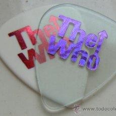 Instruments Musicaux: THE WHO / RARA PUA GUITARRA..GUITAR PICK !! NUEVA !!!!. Lote 37108095