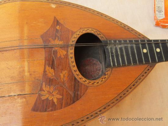 Instrumentos musicales: MANDOLINA ANTIGUA - Foto 2 - 37856551