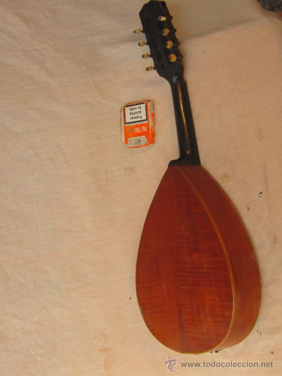 Instrumentos musicales: MANDOLINA ANTIGUA - Foto 4 - 37856551